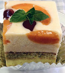 お菓子の会のケーキ